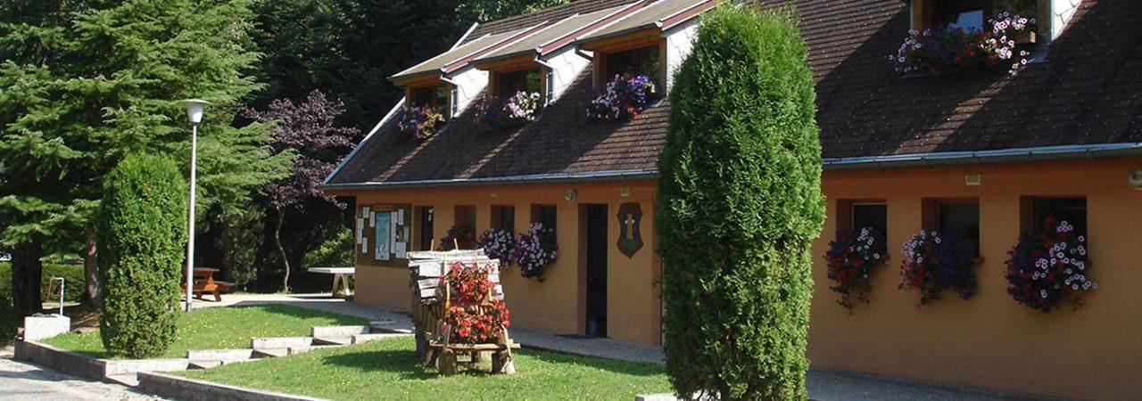 Bâtiment de confort du camping Langenwasen